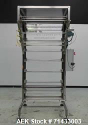 Used- Del Packaging Model IVCL Incline Vertical Cap Loader.