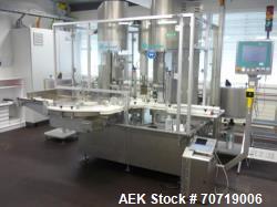 Groninger MCS301R, Crimp Capper. Maximum 3000 vials/h, stainless steel (1.4301) construction, 230/4...