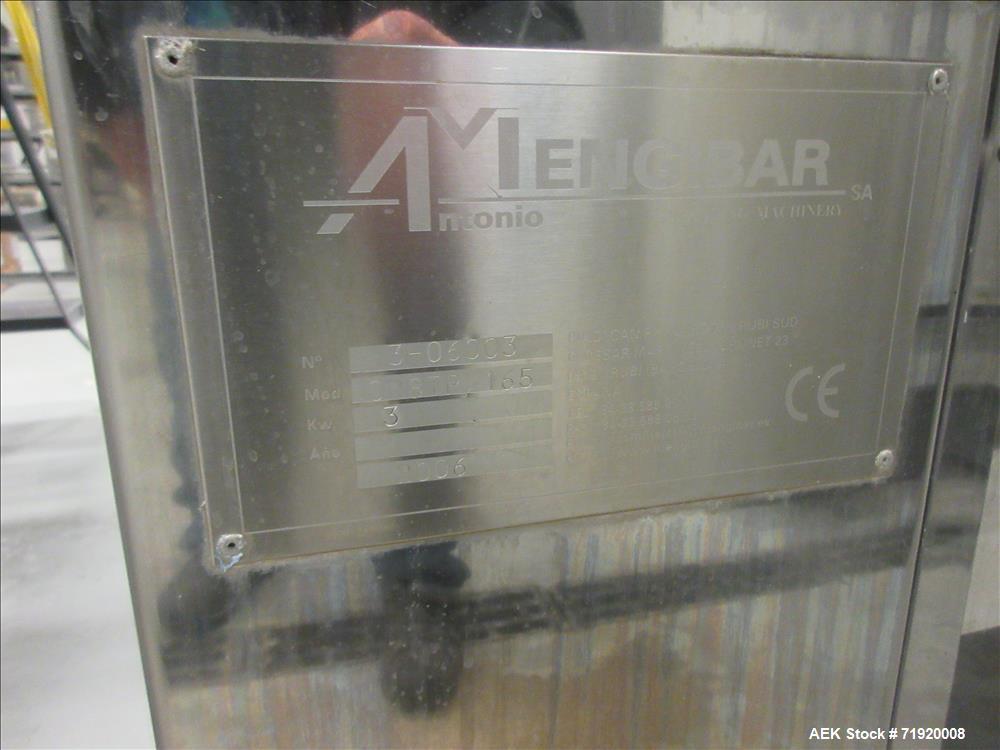 Used- Mengibar Model CR8TP165 Trigger Spray Pump Placer and Inserter.