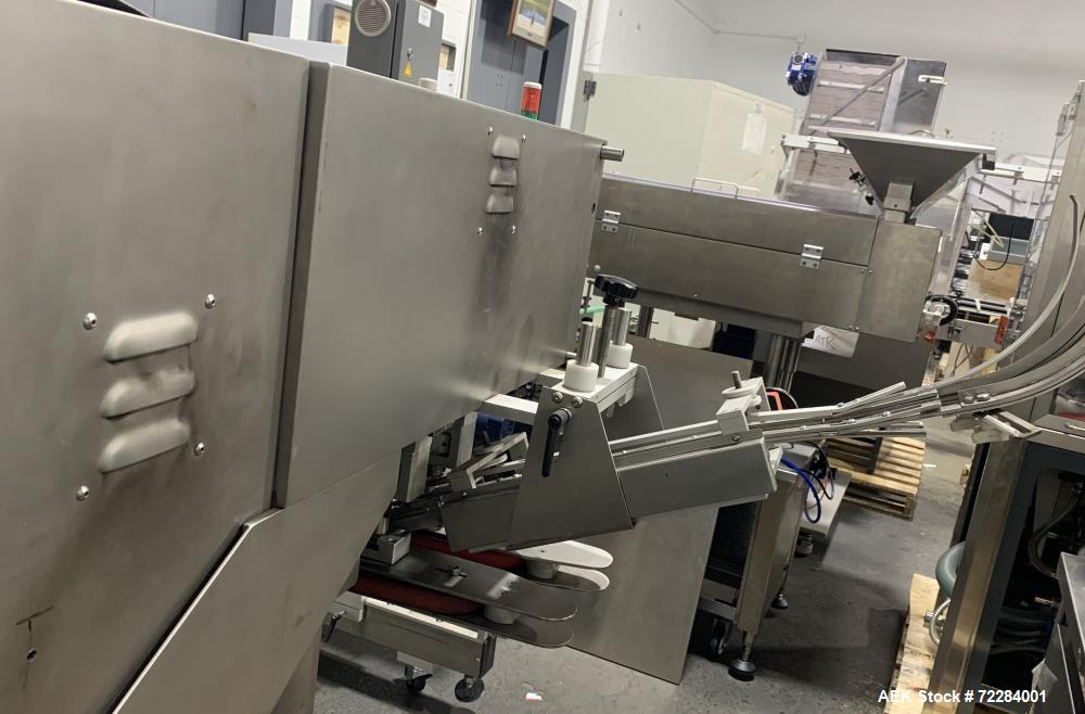 Used- CVC Automatic Inline Quill Capper