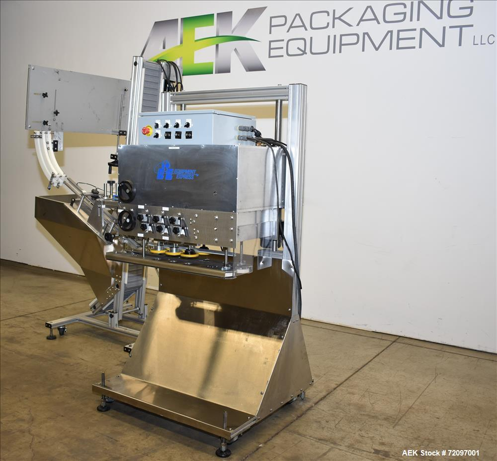 Used- Equipment Express Inline Quill Capping System.