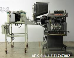 Used- Pack West Auto-200 Automatic Inline Capper with Hoppmann Unscrambler
