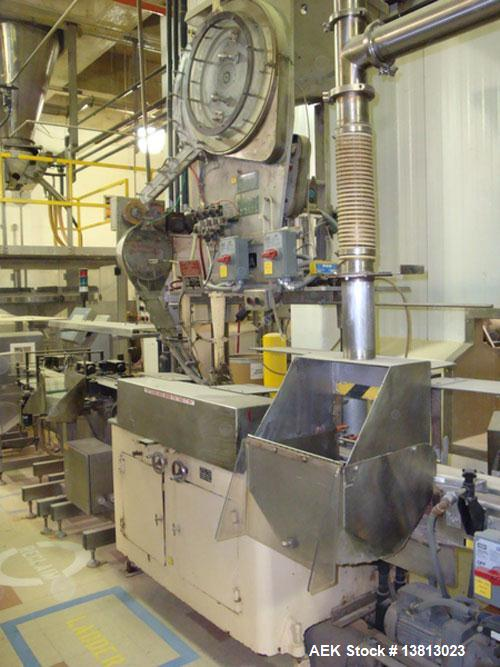 Used-Resina Model F27 27 Fitment Applicator. Sorts and feeds fitments to be snapped into filled bottles such as spices. Prev...
