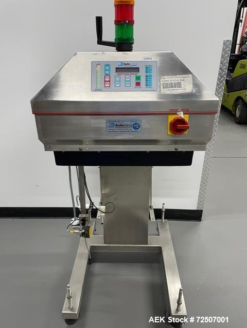 Used-Automate Technologies Model AM-250 Cap Induction Sealer