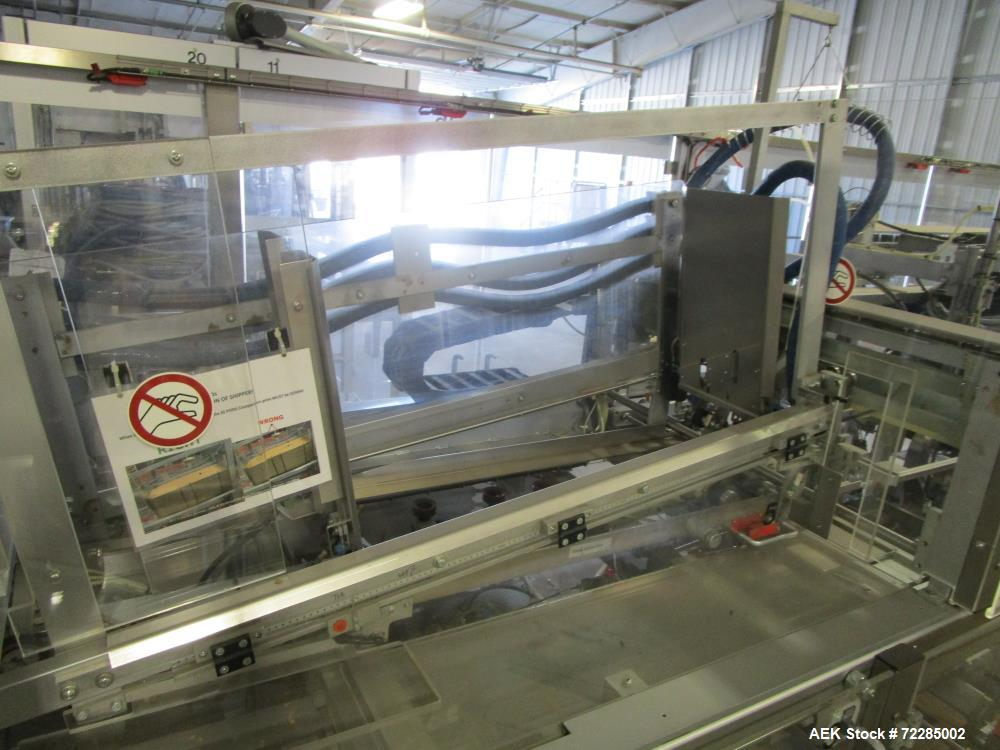 Used- Bosch Elematic 6000 EFC Coffee Single Serve Carton Packaging Line