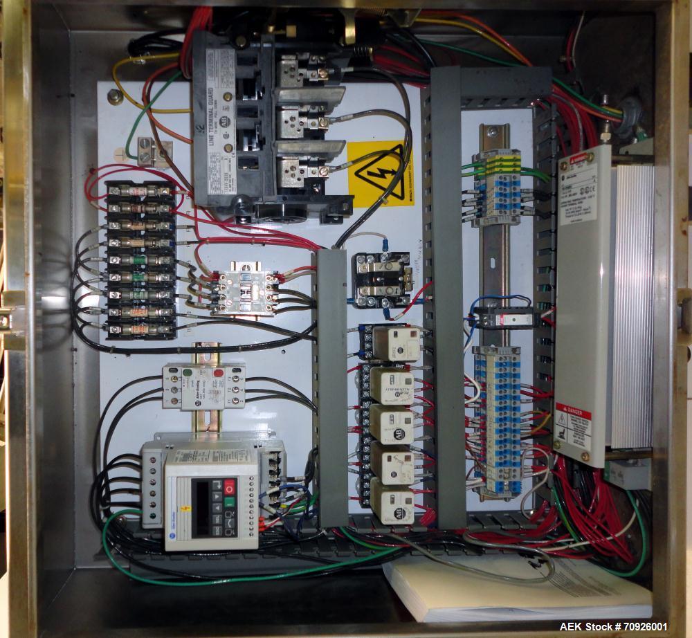 Used- Adco Tab-Lock Top-Load Tri-Seal Carton Forming Machine,  Model AFH-40-EC