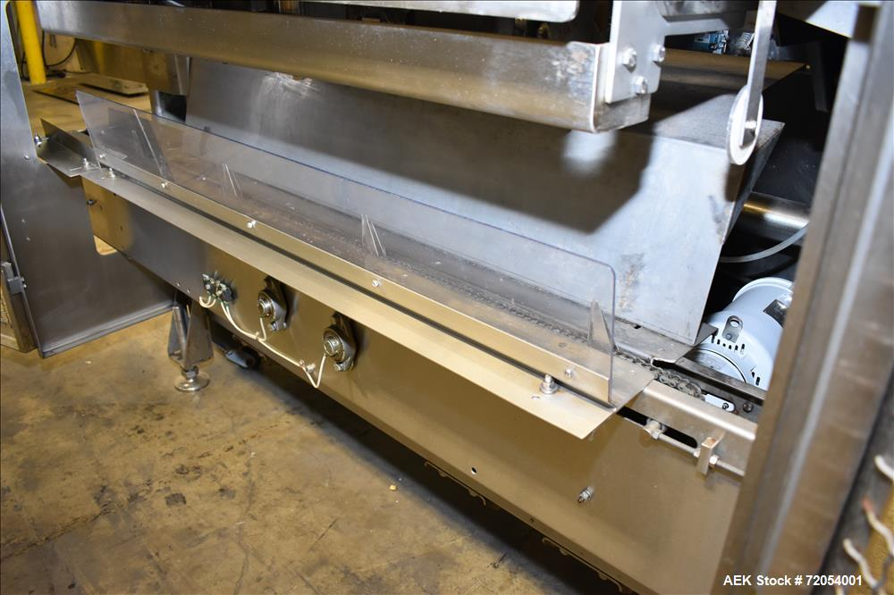 Used-Adco Triseal Carton Former.