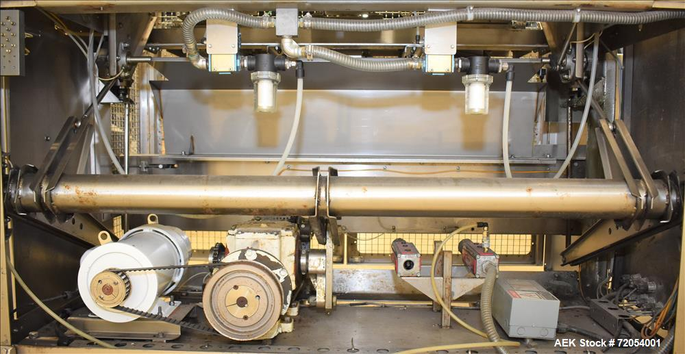 Used- Adco Triseal Carton Former, Model AFHXX-40-3-WD
