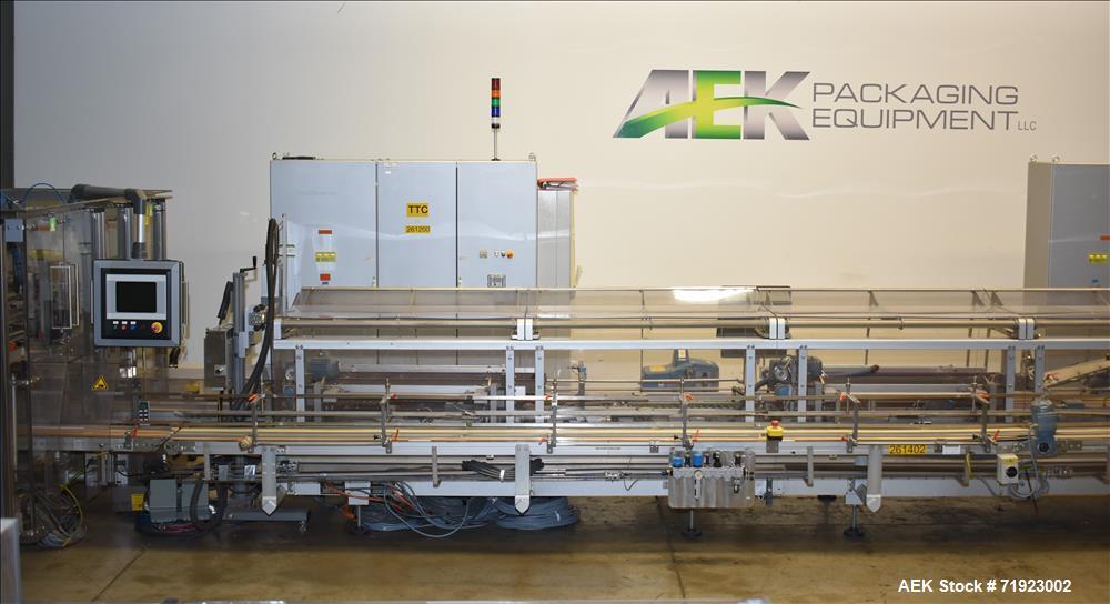 Bosch TTF, TTC, TTL Triseal Carton Forming,Robotic Loading and Top Closing