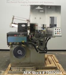 Used- Bradman Lake Model HS2/60G Single Head Hot Melt Tray Former