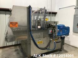 Used- Doboy Tray Former, Model 751. Single mandrel former with hot melt. Relay logic for controls. Nordson ProBlue 10 hot me...