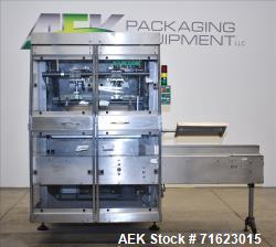 Used- Kliklok SRWD Dual Head Tab Lock Top Load Carton/Tray Former Up To 120 CPM