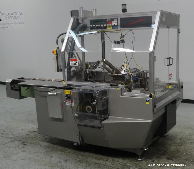 Used- CAM Model PMM 8 Automatic Horizontal Cartoner