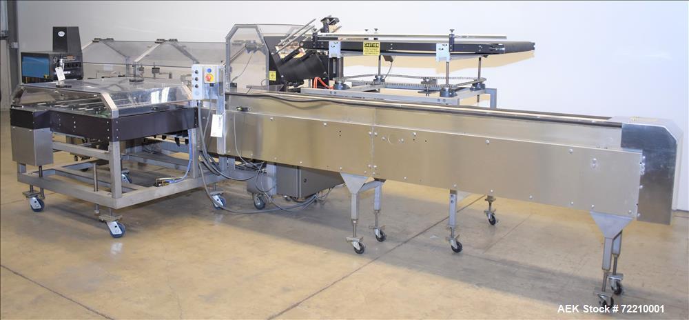 Used- Econocorp Pegasus Automatic Horizontal Continuous Motion Hot Melt Glue Car