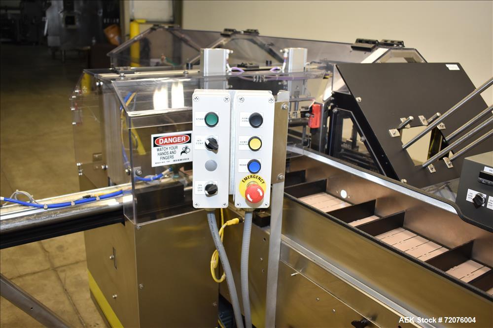Used- Econocorp (Econoseal) Automatic Horizontal Intermittent Glue-Seal Cartoner