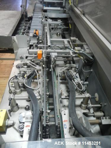 Used- IWKA CPS-R Automatic Horizontal Blisterpack Glue Cartoner with Blister Tra