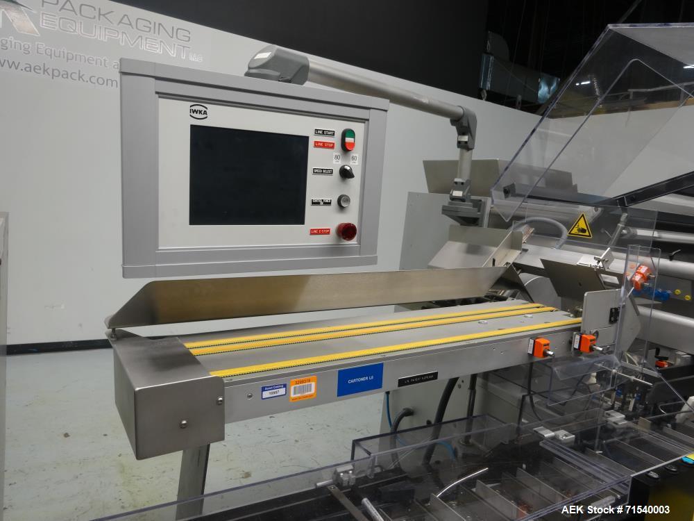 Used- IWKA Model SI 6 Horizontal Glue Cartoner