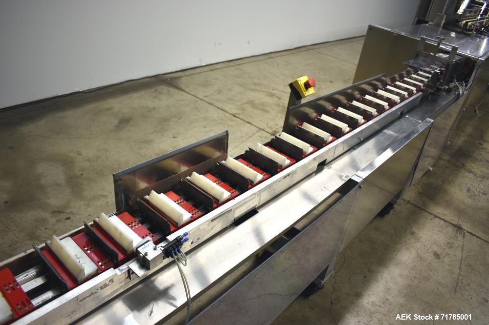 Used- Jones Legacy Horizontal Automatic Load Cartoner
