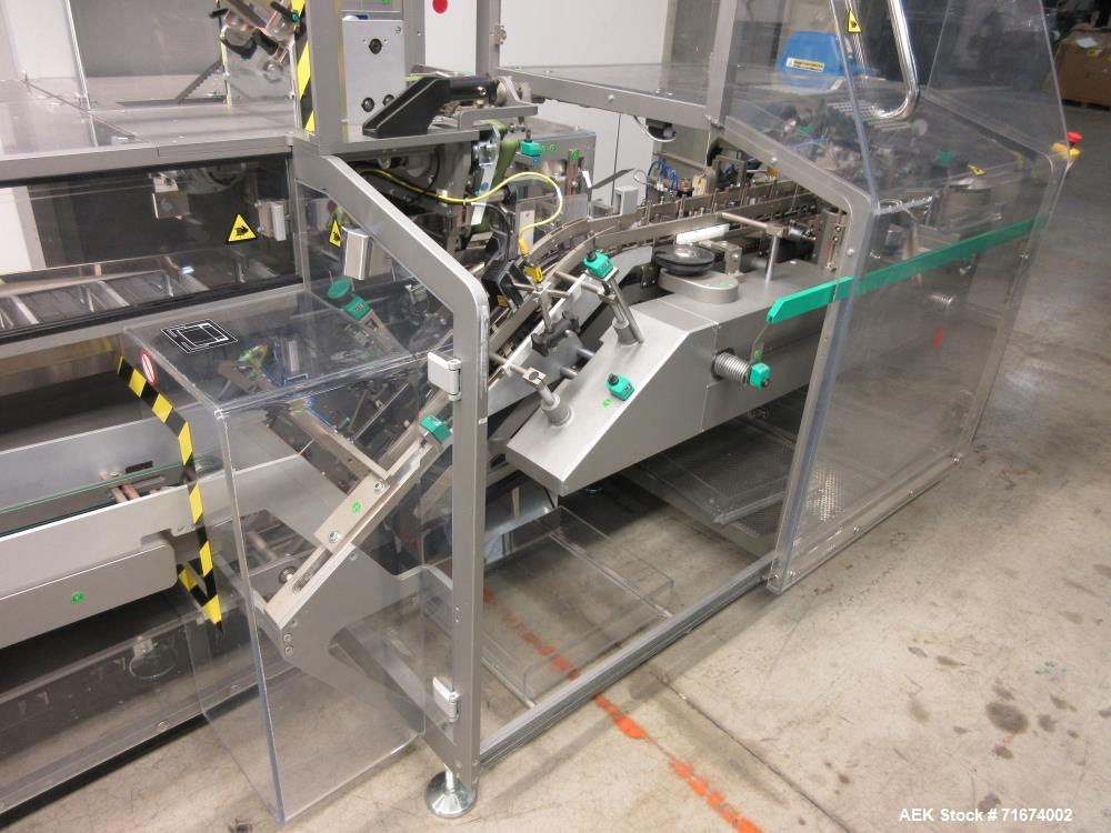 Used- Marchesini Model MA155A Continuous Motion Horizontal Blister Cartoner