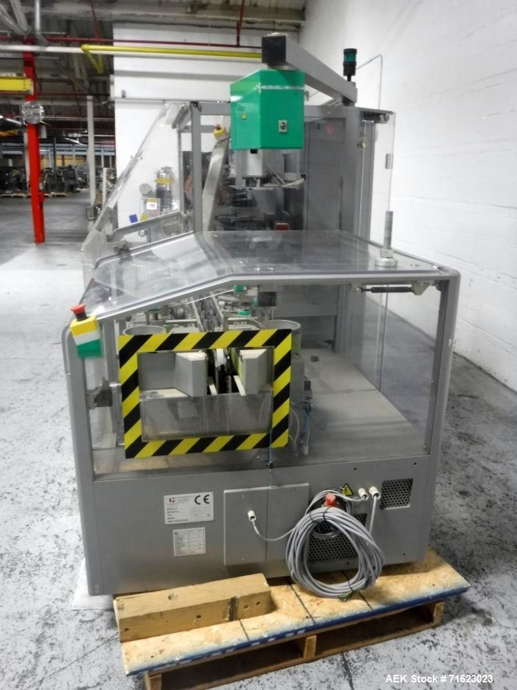 Used- Marchesini Model MA255 Automatic Horizontal Tuck Cartoner