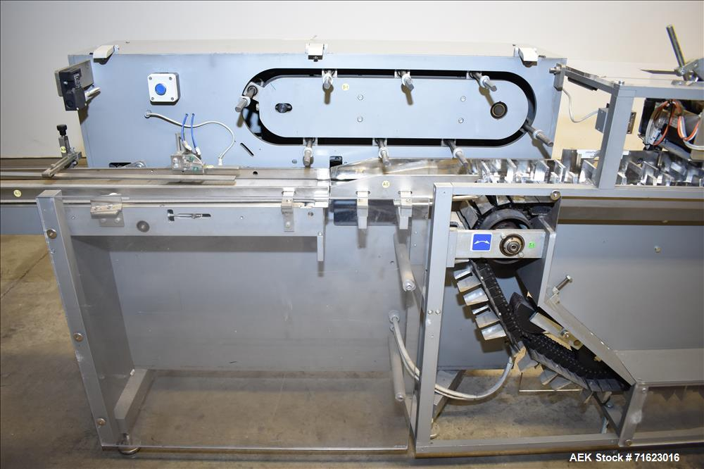 Used- Model MA 305 Horizontal Blisterpack Cartoner