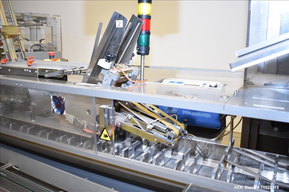 Marchesini Model MA 305 Horizontal Blisterpack Cartoner