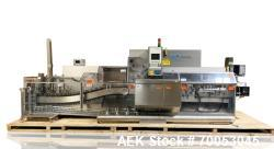 Used Uhlmann horizontal cartoner, model C 2205, speeds up to 250/ minute, 150 mm x 100 mm x 90mm max...