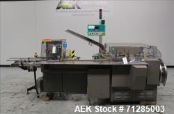 Used- Marchesini Model BA 100 Automatic Horizontal Intermittent Motion Cartoner