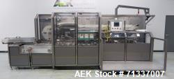 Used- Z-Automation Company Automatic Horizontal Reverse Tuck Cartoner