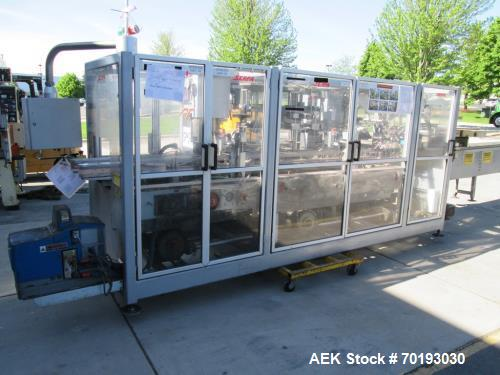 Used- Serpa Model 5000AL Automatic Horizontal Cartoner