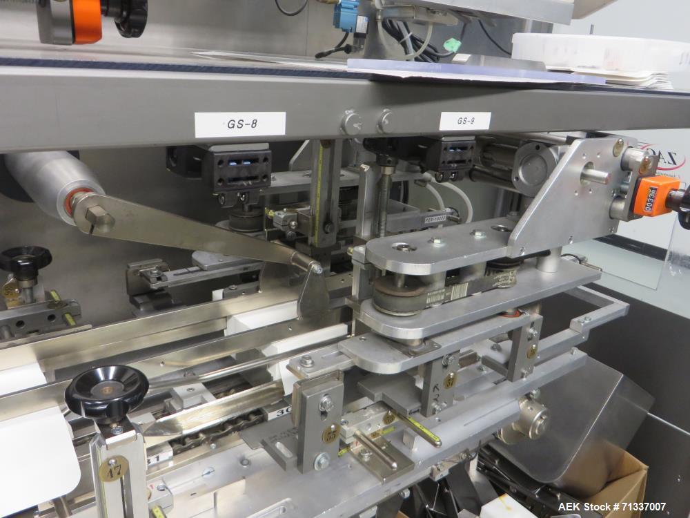 Used- Z-Automation Company Automatic Horizontal Reverse Tuck Cartoner