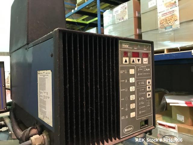 Used- Bradman Lake Model SL-80 Semi Automatic Horizontal Hot Melt Cartoner