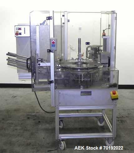Used- Brunner Model VC Vertical Semi Automatic In