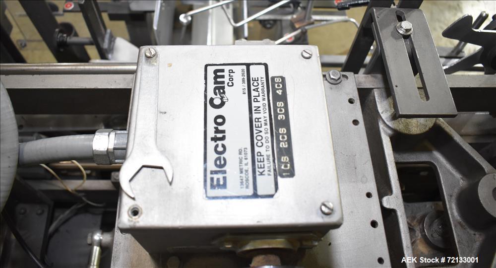 Used- Jones Model CMV-5 Semi- Automatic Vertical Tuck Cartoner