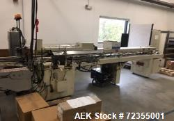 Bivans Model 74G Vertuck Semi-Automatic Vertical Cartoner. Machine is capable of speeds up to 120 ca...