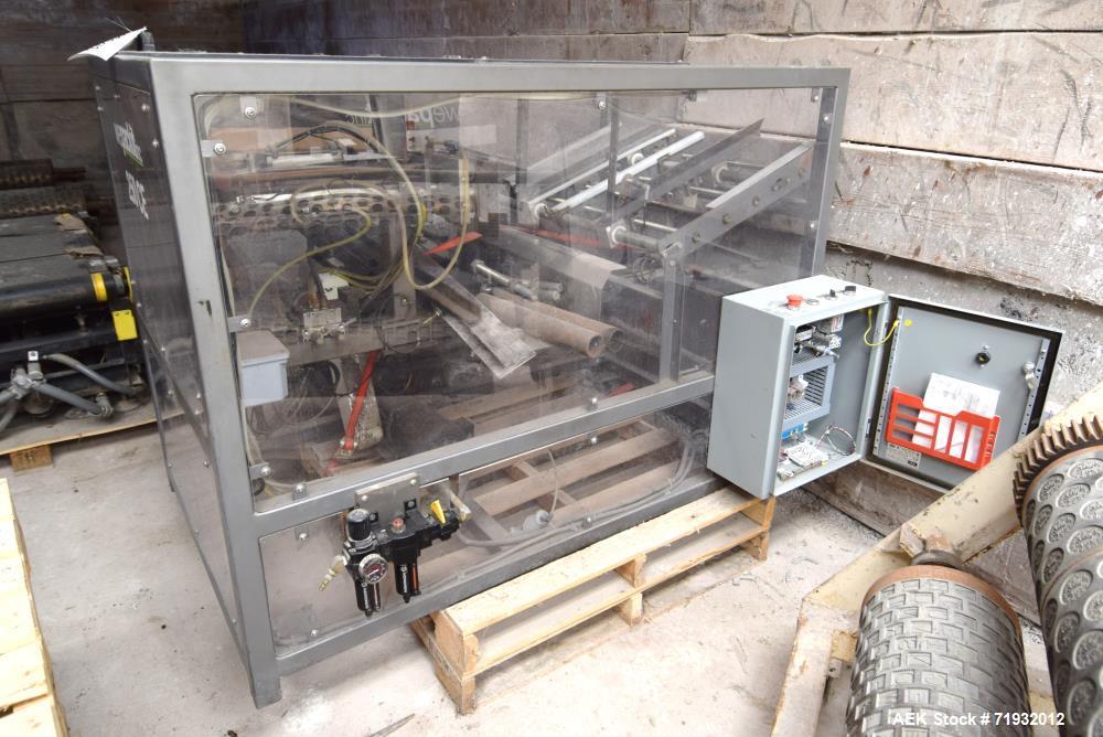 Used- Wepackit Machinery 250 CE Auto-Bottom Carton/Case Erector