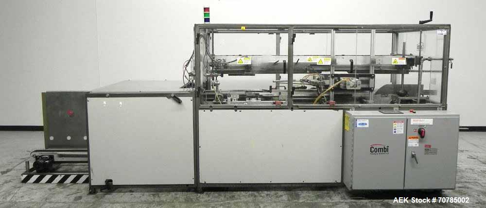 Used- Combi Packaging Systems Model SCE Servo Case Erector