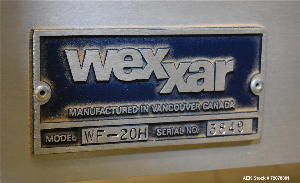 Used- Wexxar Model WF-20H, Automatic Case Erector.