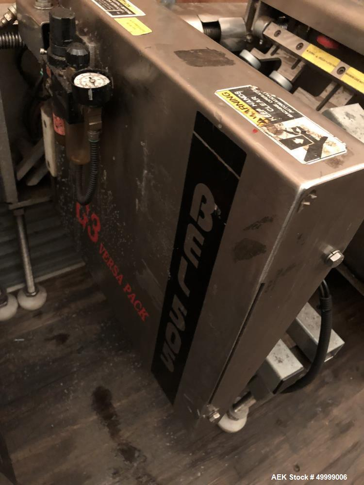 Used- Belcor Industries BEL 505 Semi-Automatic Case Erector & Pack Station