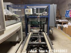 Used-Lantech C-1000 Automatic Case Erector and Bottom left hand Case Sealer, Model C-1000-Tape. Capable of speeds up to 10 c...