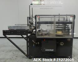 Used- Loveshaw (Little David) Model CF30T Case Erector and Bottom Sealer