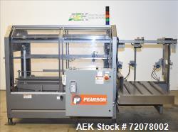 Pearson, Model CE25-T Case Erector and Bottom Glue Sealer