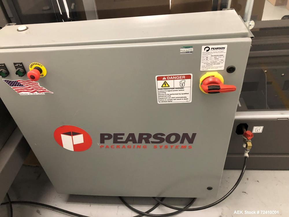 Used- Pearson Automatic Case Erector and Bottom Taper Sealer