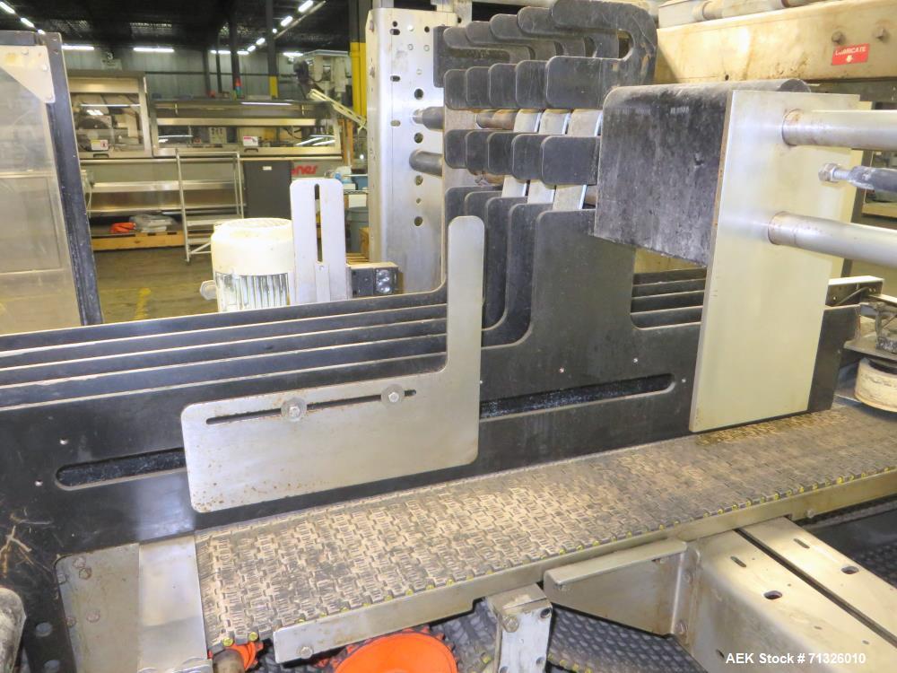 Used- Hartness International Model 2900 Stainless Steel Drop Case Packer