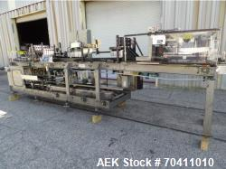Used- Hartness International Case Packer, Model: 900-AT
