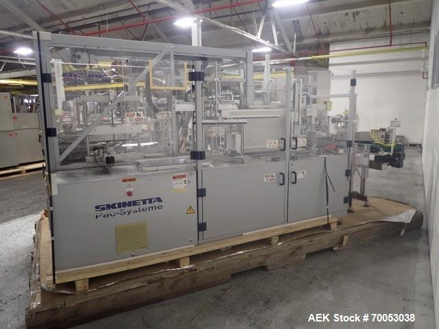 Used- Skinetta Pac System Case Packaging Machine, Type CP145