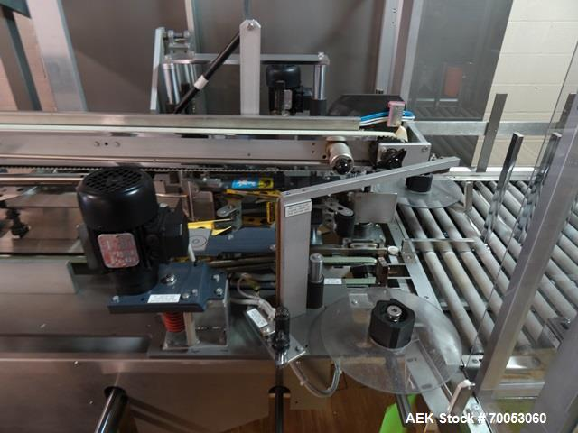 Used- IMA High Speed Side Loading Case Packer, Model 3738BA
