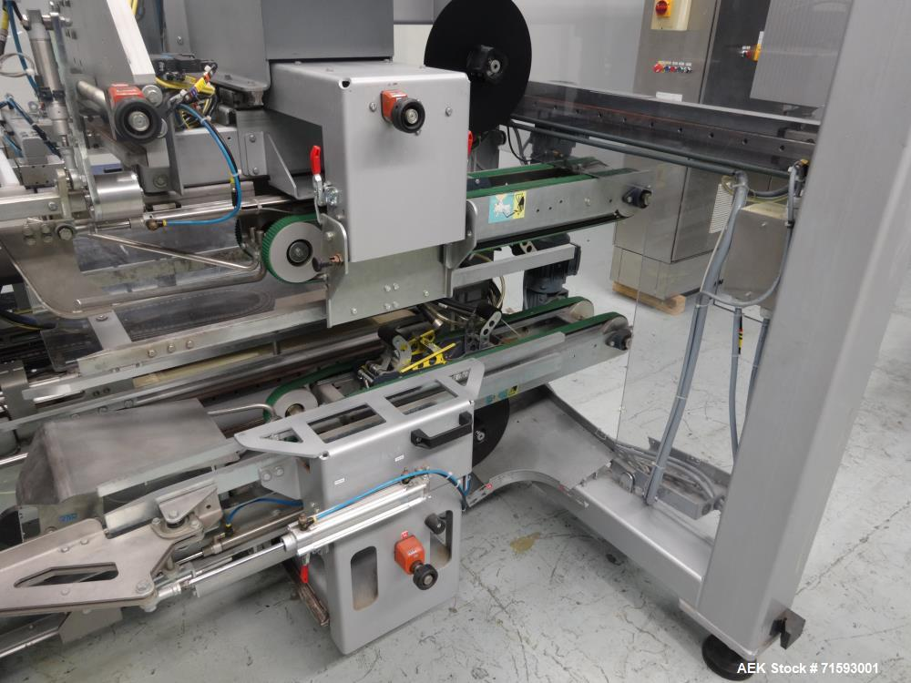 Used- Cermex Gebo Model SD-59 Compact Top Loading Robotic Carton Case Packer