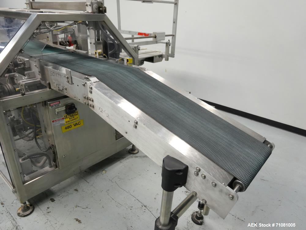 Used- Fallas Model NDX-220 KR-7 Automatic Pouch/Bag Case Packer Erector Packer
