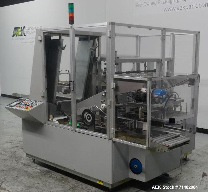 Used- MAB Compact Cosmetic/Pharmaceutical Case Packer/Erector/Sealer, Model B88